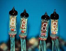 6 pcs. IV-3A (ИВ-3А) NIXIE TUBE, VFD VINTAGE DISPLAY FOR CLOCK, INDICATOR DIGITS