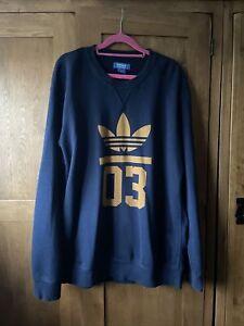 adidas originals sweatshirt Mens Size L Genuine Designer