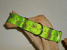 Grinch 1 1/2 Inch Custom Made Martingale Dog Collar