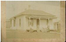 Vintage 1900s  B&W Photo house at 109 S. Tama St.,  Boone Iowa