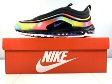 Nike Air Max 97 'Tie Dye' Black/Multi Color CK0841-001 Men Size 14