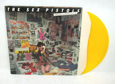 SEX PISTOLS: Submission / Anarchy In UK - YELLOW Vinyl Punk SINGLE Record IMPORT