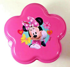NEW Zak! Disney MINNIE MOUSE Lunch Snack Fruit Plastic Container Purple Pink