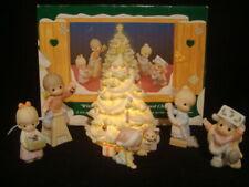 Precious Moments-6 Piece Set Family Christmas Scene-Rare Limited Edition-$225V
