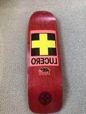 Black Label Skateboard Lucero 1988 Reissue