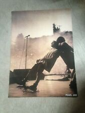 "Pearl Jam live in concert 23"" x 33"" poster"