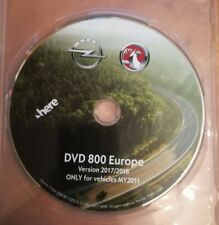DVD NAVIGATION OPEL DVD 800 CD 500 NAVI  EUROPA 2018  ASTRA MERIVA INSIGNIA MY11