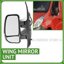Left passenger side manual wing door mirror unit for Renault New Master 2010-15