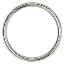 Bulk Key Rings Key Chain Metal Split Ring (Round Edged 1 Inch Diameter)