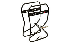 Axiom Journey Suspension and Disc Lowrider Front Rack: Black