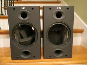 PAIR BOWERS WILKINS B&W  DM-601 S2 SPEAKER CABINETS