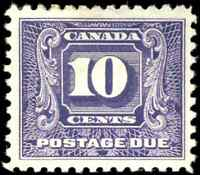 Canada #J10 mint VF OG H 1930 Second Postage Due 10c dark violet CV$160.00