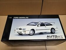 Autoart FORD SIERRA RS COSWORTH WHITE 72862 1/18