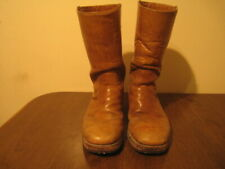 VTG FRYE HAND CRAFTED  PULL ON CAMPUS FESTIVAL HIPPIE BOOTS Made USA (T1) 10.5D