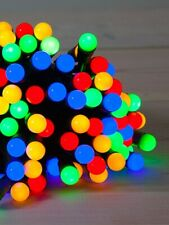 10 LED Battery Operated Mini Flashing Colour Berry Christmas Lights Decoration