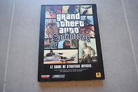 Guide stratégique officiel Grand Theft Auto GTA San Andreas version FR
