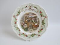 """Royal Doulton Brambly Hedge  The Discovery 8"""" Plate - Excellent - Gift Boxed"""