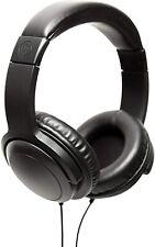 Wicked Audio Artifact Over Ear Headphones with Enhanced Bass, Black, Brand New