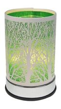 Electric Oil Warmer Wax Melts Green Tree Design Touch Control