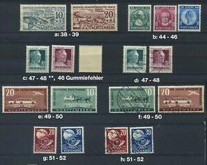 Württemberg ex 38 - 52, postfrisch oder gestempelt; bitte auswaehlen #g069