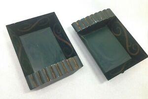 "Sebastian Miniature OWA-006 Wall Hanging Shelf - Tin - Set of 2 - 5-12""x4"""