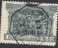 PORTUGAL:1911 300 reis on 50 reis Postage Due opt REPUBLICA SG452 fine used
