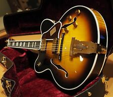 2014 Gibson Custom Shop L5 Double Cut Thin Body VSB Jazz Archtop New Mint *482