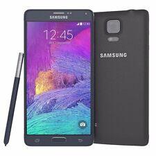 Original 32GB Samsung Galaxy Note IV 4 SM-N910A Débloqué d'usin TéléPhone Noir