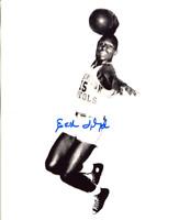 Earl Lloyd Autographed 8x10 Photo