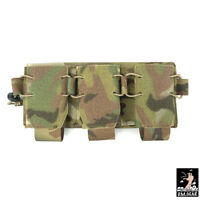 DMgear Tactical Triple Mag Pouch Hook&Loop 556 Mag Carrier Front Panel Airsoft