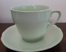 Vintage Johnson Australia Pastel Green Cup and Saucer