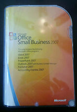 Microsoft 2007 Small Business (Retail) (1 User/s) - Full Version for Windows W87