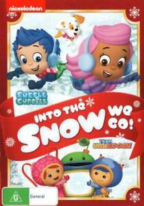BUBBLE GUPPIES / TEAM UMIZOOMI: INTO THE SNOW WE GO! (2015) [NEW DVD]