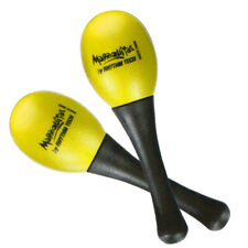 Rhythm Tech Percussion Maraquita Yellow Mini Maraca - Pair
