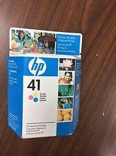 HP 41 TRI-COLOR InkJet Printer Ink PRINT CARTRIDGE ~ 51641A