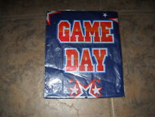 Cool Football Multi-Use Plastic Sheet Game Day