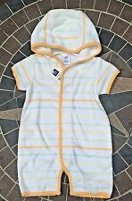 New Baby GAP Boy Girl Terry Cloth Swim Suit Bath Romper Cover Up Shorts 3 Months