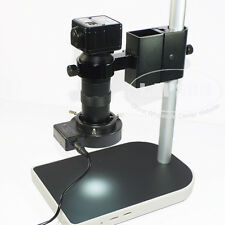 2.0MP HD Industry USB Digital Microscope Camera Set + C-mount Lens + Stand Light