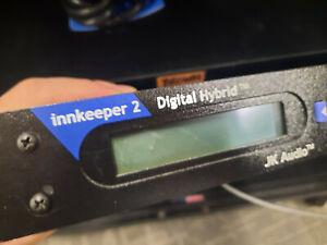 JK Audio Innkeeper 2 Broadcast Digital Hybrid Phone Line Console Telco Interface