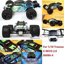für 1/10 Traxxas E-REVO 2.0 86086-4 RC Auto Überrollkäfig Schutz Cover Nylon #MV