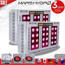 2pcs Mars Hydro pro II 600w LED Grow Light Pflanzenlampe Vollspektrum