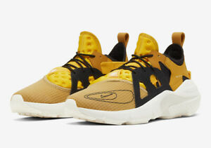 Nike Air Huarache Gold Sneakers for Men for Sale | Authenticity ...