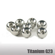 Titanio Piercing Sfera 1,6mm Filettatura Sfera Da Avvitare Sfere 3/4/5/6/8mm