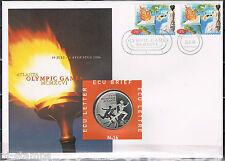 Nederland ECU-brief 16 Olympische Spelen Atlanta 1996