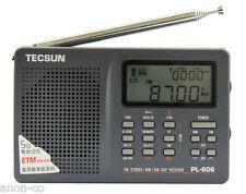 TECSUN PL-606 (Grey Color) PLL DSP Radio FM, MW, LW, SW    << ENGLISH VERSION >>