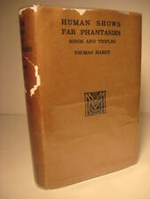 1925 THOMAS HARDY'S 'HUMAN SHOWS FAR PHANTASIES' IN DJ