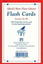 ALFRED'S BASIC PIANO LIBRARY FLASH CARDS LEVELS 2-3 ALFRED PUBLISHING (EDT)