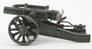"Britains Ltd England Diecast 18"" Mobile Heavy Howitzer Toy Artillery Cannon VTG"