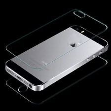 Front And Back Tempered Glass Screen Protector For Apple iPhone 5/5C/5S New
