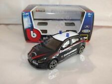 Alfa Romeo Giulietta Police Black Die Cast Metal Model Car Scale 1:43 New In Box